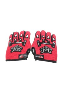 Cycling Glove Bicycle Protect - Full Finger (Red)