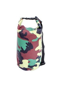 Safebet Waterproof Shoulder Dry Bag Pouch 10L (Army)