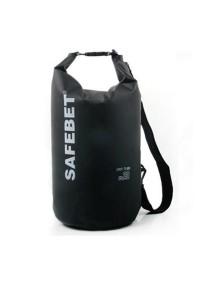 Safebet Waterproof Shoulder Dry Bag Pouch 10L (Black)