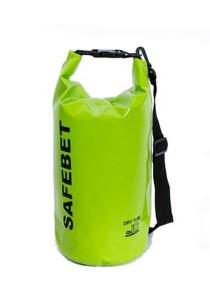 Safebet Waterproof Shoulder Dry Bag Pouch 10L (Green)