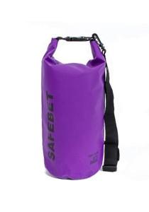 Safebet Waterproof Shoulder Dry Bag Pouch 10L (Purple)