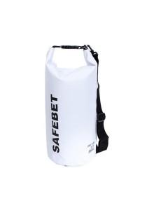 Safebet Waterproof Shoulder Dry Bag Pouch 10L (White)