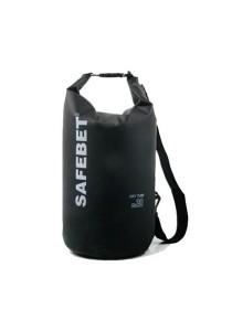 Safebet Waterproof Shoulder Dry Bag Pouch 20L (Black)