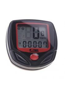 SD-549B Multifunctional Bicycle Odometer Speedometer Chinese Mountain Bike MTB New RB road Bike Accessory MTB (Black)