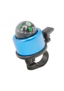 Metal Ring Handlebar Bell Sound Alarm Bicycle (Blue)