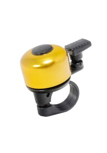 Metal Ring Handlebar Bell Sound Alarm MTB Bicycle (Gold)