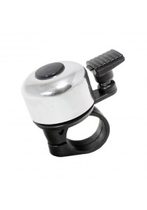Metal Ring Handlebar Bell Sound Alarm Bicycle (Silver)