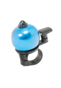 Metal Ring Handlebar Bell Sound Alarm MTB Bicycle Round Shape (Blue)