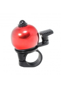Metal Ring Handlebar Bell Sound Alarm Bicycle Round Shape (Red)
