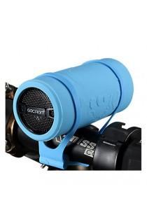GACIRON B07 Bicycle USB Charging Speaker Music Player MP3 (Blue)