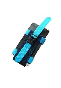Sport Outdoors Arm Wrist Band Phone Holder (Blue)