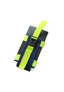 Sport Outdoors Arm Wrist Band Phone Holder (Green)