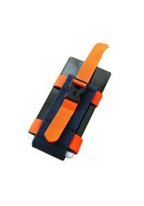 Sport Outdoors Arm Wrist Band Phone Holder (Orange)