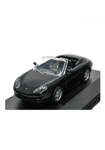 HighSpeed Porsche 911 Carera Cabrio 1998 Die-cast car 1:43 Car (Black)