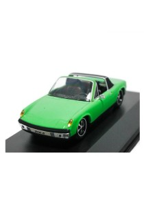 HighSpeed Porsche 914-6 1970 Car Die-cast car 1:43 Car (Green)