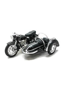 Home Toys 1:18 Die-cast Side Car M558 Motorcycle Model Collection (Black)