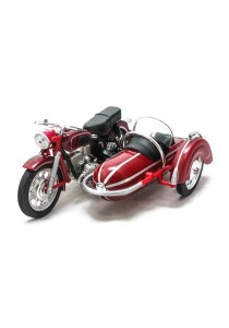 Home Toys 1:18 Die-cast Side Car M558 Motorcycle Model Collection (Red)
