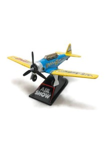 Home Toys 4 Die-cast Air Show Fighter Aircraft Plane Aeroplane Model Force (Blue)