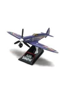 Home Toys 4 Die-cast Air Show Fighter Aircraft Plane Aeroplane Model Force (Purple)