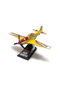 Home Toys 4 Die-cast Air Show Fighter Aircraft Plane Aeroplane Model Force (Yellow)