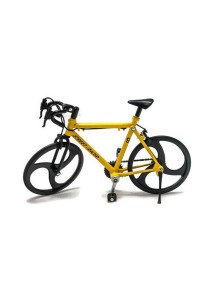 Home Toys Street Racer 6 Die-cast Bicycle Model Collection (Yellow)