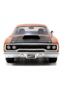 Jada Fast & Furious 1:24 Dom's Plymouth Road Runner Car Model Collection (Orange)