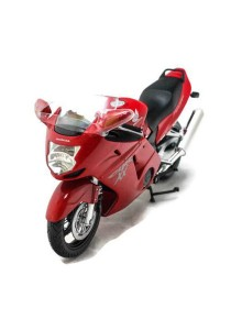 Joy City 1:12 Bike Honda CBR 1100XX Motorcycle Blue Die-cast Model Collection (RED)