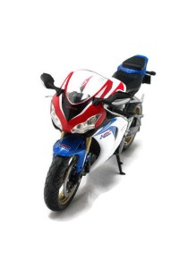 Joy City 1:12 Honda CBR Fireblade HRC Motorcycle Blue Die-cast Model Collection (Blue)