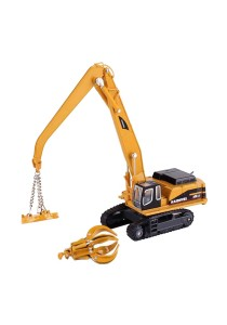 Kaidiwei 1:87 Die-Cast Material Handler Yellow Color Metal Model