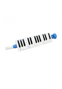 27 Notes Soprano Melodica Mouth Organ Pianica Keyboard Harmonica Musical (Blue)