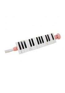 27 Notes Soprano Melodica Mouth Organ Pianica Keyboard Harmonica Musical (Pink)