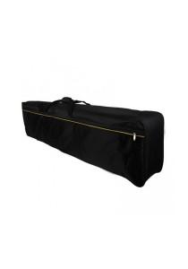 88 Keys Keyboard Bag Sponge Hand Shoulder Carry Bag Musical Lightweight Keyboard Case New (Black)