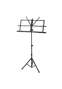 Adjustable Foldable Music Score Sheet Stand Normal (Black)