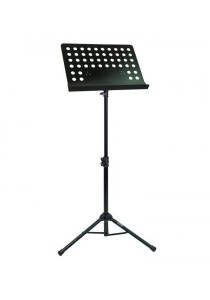 Adjustable Foldable Music Score Sheet Stand Extra (Black)
