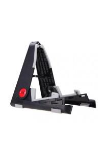 Aroma Electric Acoustic Guitar Ukulele Bass Stand Smart Folding (Black)