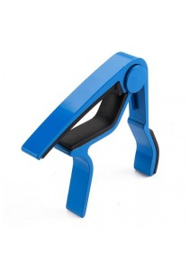 Guitar Capo Music Accessory Acoustic Electric Bass (Blue)