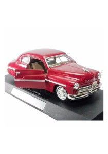 NewRay 1:32 Die-cast 1949 Ford Mercury Classic Car Red Color Model Collection Christmas New Gift