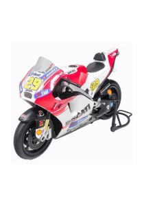 NewRay 1:12 Die-cast Ducati Desmosedici (Andrea Iannone) Motorcycle White Color Model Collection Christmas New Gift