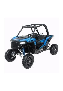 NewRay 1:18 Die-cast Polaris RZR XP 100 Side By Side ATV Blue Color Model Collection Christmas New Gift