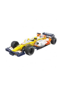 NewRay 1:24 Die-Cast 2008 Renault F1 Race Car White Color Collection Model