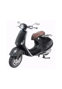 NewRay 1:12 Die-cast Vespa 946 Scooter Motorcycle Black Color Model Collection Christmas New Gift
