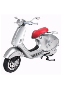 NewRay 1:12 Die-cast Vespa 946 Scooter Motorcycle Silver Color Model Collection Christmas New Gift