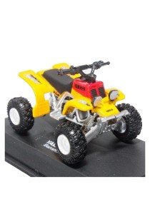 NewRay 1:32 Die-cast Yamaha Banshee Sport ATV Yellow Color Model Collection Christmas New Gift