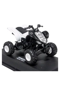 NewRay 1:32 Die-cast Yamaha Raptor 660R Sport ATV White Color Model Collection Christmas New Gift