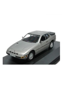 1:43 High Speed Die-cast Porsche 924 Turbo 1978 Car Grey Model Collection New