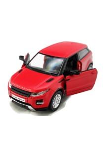 RMZ City 1:32 Die-cast Range Rover Evoque Car Model (Metallic Red)