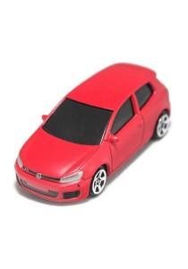 RMZ City 1:64 Die-cast Car Volkswagen Golf GTI (Metallic Red)