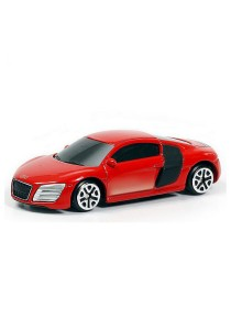 RMZ City 1:64 Die-cast AUDI R8 V10 Car Collection Model (Red)