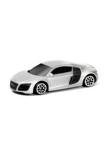 RMZ City 1:64 Die-cast AUDI R8 V10 Car Collection Model Collection (Silver)