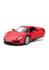 RMZ CITY Die-cast 1:36 Porsche 918 Spyder CAR (Red)